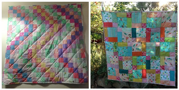 Riddle and {Whimsy}: First quilts
