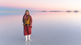 A Taiwanese Monk at the Salar of Uyuni | by Christopher Crouzet