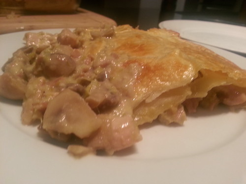 Bruce's chicken pie