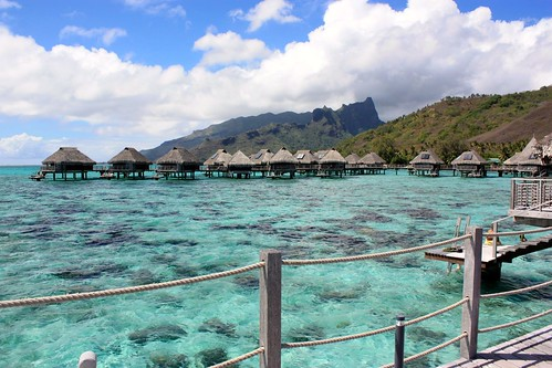 view from Hilton Moorea