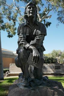 san dimas statue