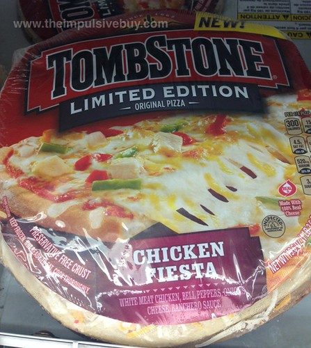 Tombstone Limited Edition Chicken Fiesta