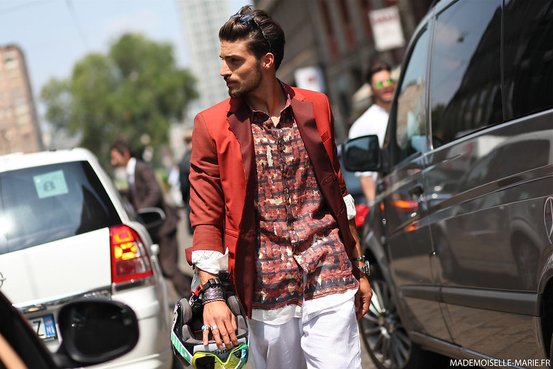 Mariano Di Vaio at Milan Fashion Menswear day 2