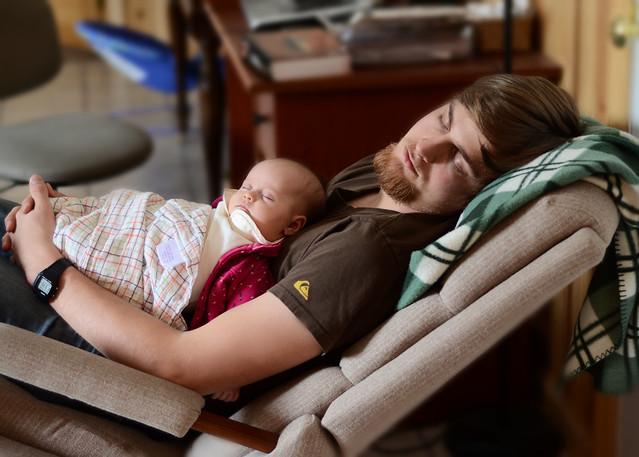 Sleeping with Dad