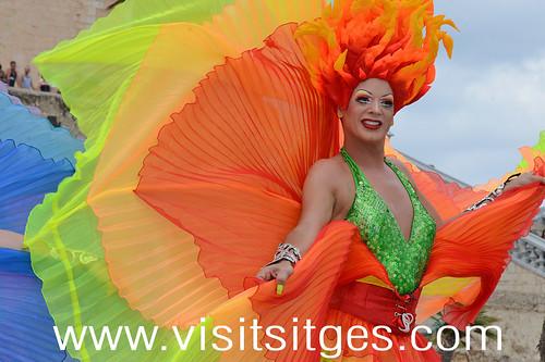 Sitges Gay Pride 2015 eventos e imágenes