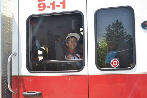 Kids enjoying a truck ride at the Windsor Islamic Association Fun Day May 31st, 2014