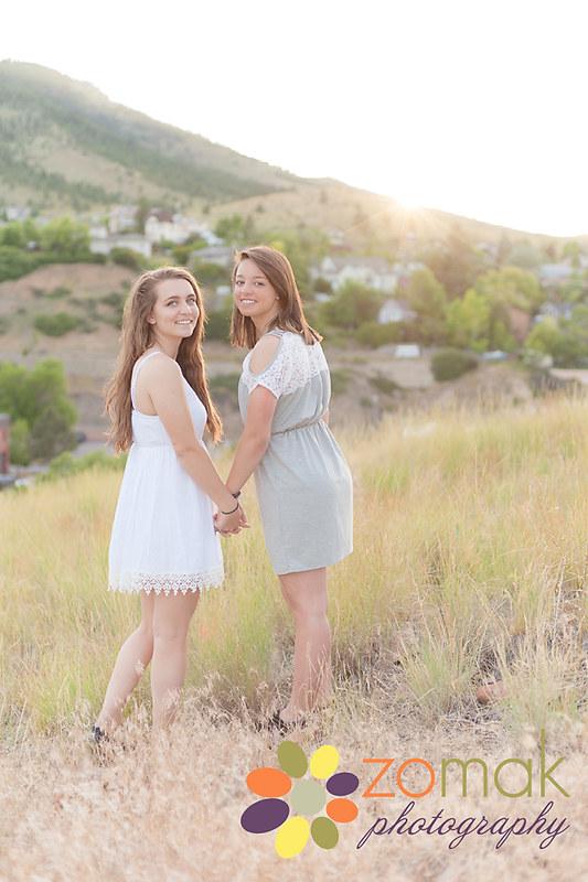 Addy & Megan:  BFF's