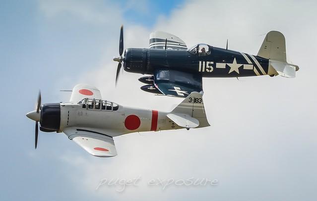 Olympic Flight Museum FG-1D Corsair