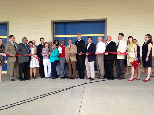 Second Harvest holds ribbon cutting ceremony for a new 65,000 square-foot regional distribution center in Thomasville, Georgia.