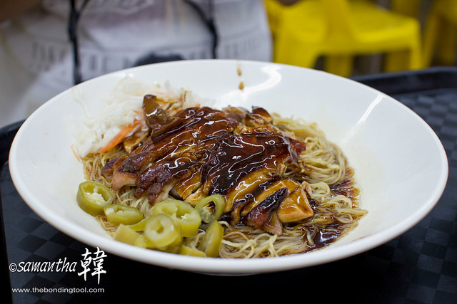 Chicken Noodle @ Kim San Leng Bangkit Road