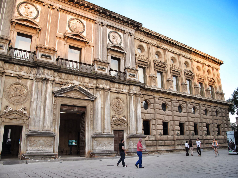 la alhambra de granada_palacio carlos V_hispania nostra_I
