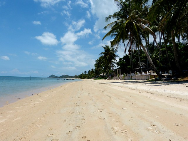 Lipa Noi Beach near Nikki Beach Ko Samui