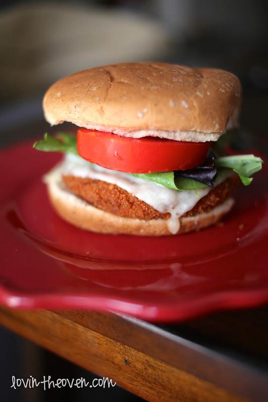 Morningstar Farms Buffalo Chikn Patty Burger