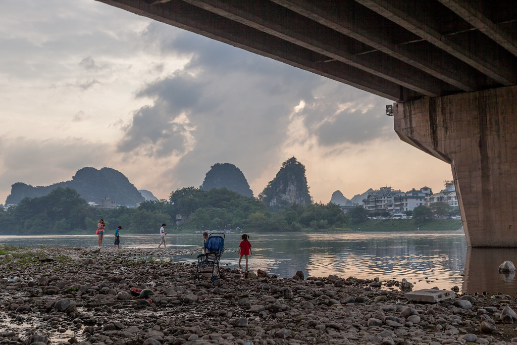 Under a Bridge in Guilin