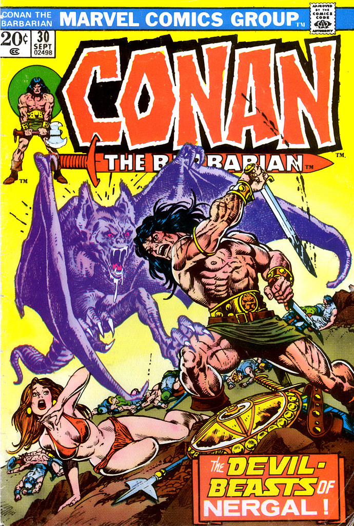 conan the barbarian 30 by gil kane