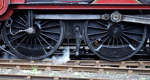 Wheels and steam