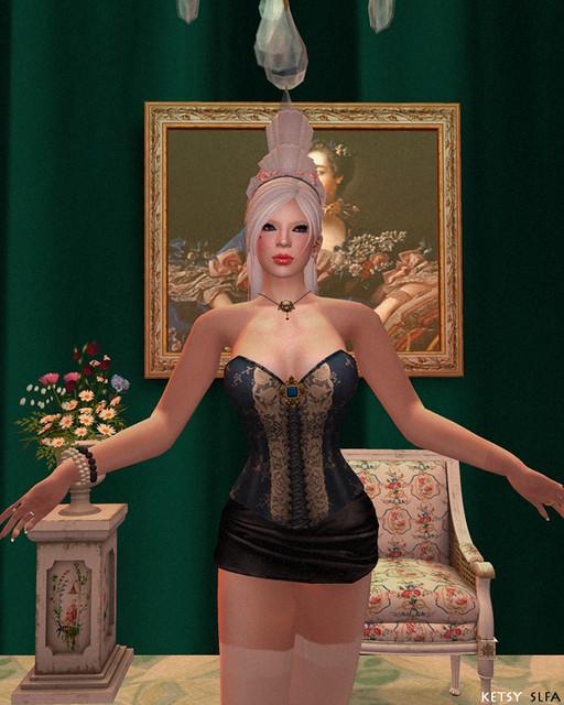 Genre - Madame de Pompadour (New Post @ Second Life Fashion Addict)