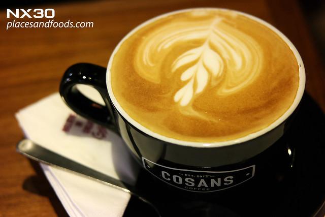 cosans coffee cafe latte