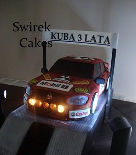 Mitsubishi Lancer Cake