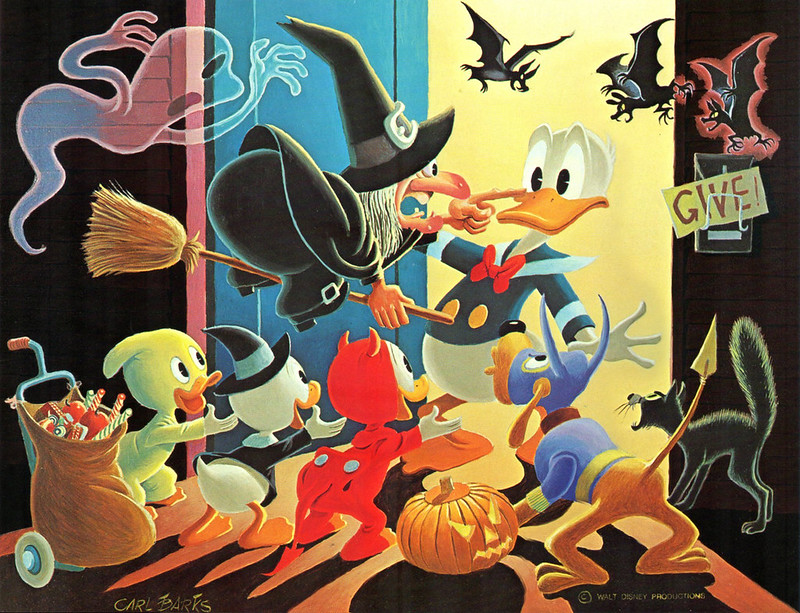 Carl Barks - Trick or Treat, 1974