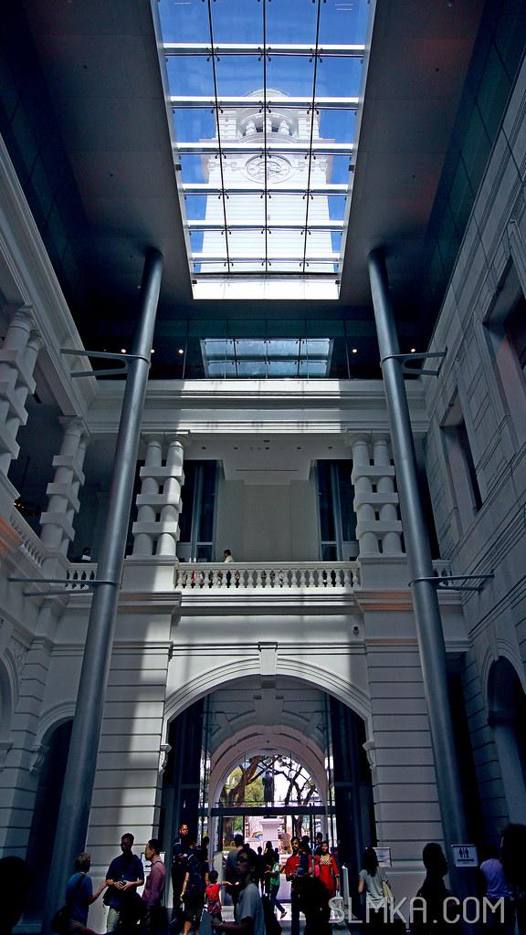 Main hall daytime view