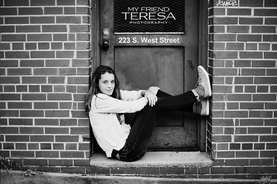 My Friend Teresa Photography Cary Academy senior portrait