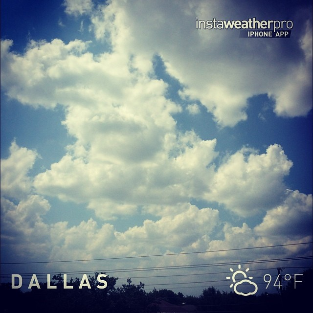 #instaweather #instaweatherpro #weather #wx #sky #outdoors #nature #world #love #beautiful #instagood #fun #cool #life #nice #dallas #estadosunidos #day #summer #clear #us