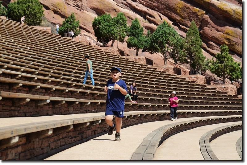 Terraces(seats)of Amphitheatre 4