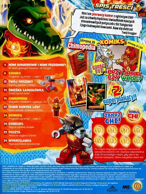 LEGO Legends of Chima Oficjalny Magazyn 2014-07 02