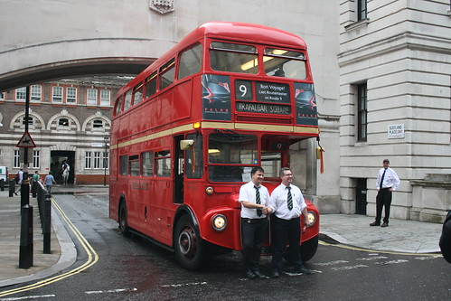 The Crew of RM1627 - The Last Routemaster on Route 9H.
