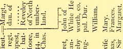 "Image from page 290 of ""Pedigrees recorded at the visitations of the county palatine of Durham made by William Flower, Norroy king-of-arms, in 1575, by Richard St. George, Norroy king-of-arms, in 1615, and by William Dugdale, Norroy king-of-arms, in 1666"""