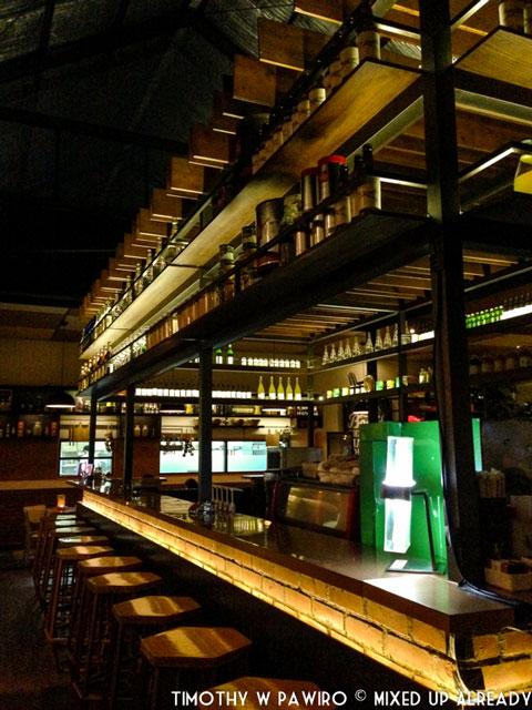 Indonesia - Bandung - Verde - The bar