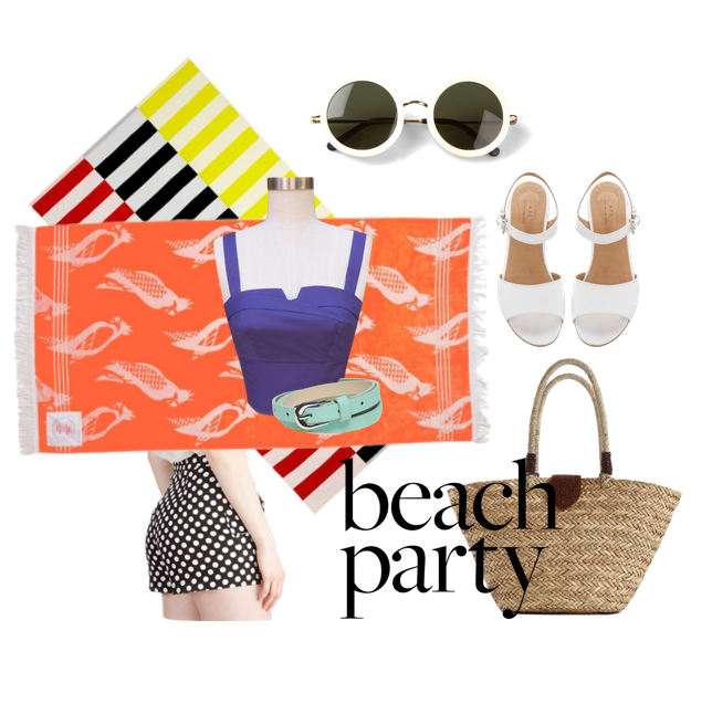 Beach Party, july, never fully dressed, withoutastyle,