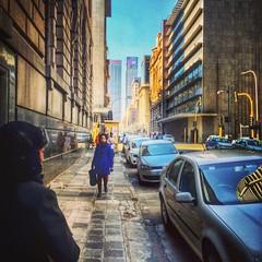 Lady in Blue. #street #urban #newtown