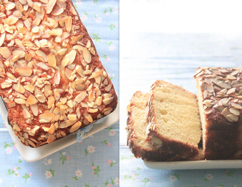 HONEY & ALMOND LOAF CAKE