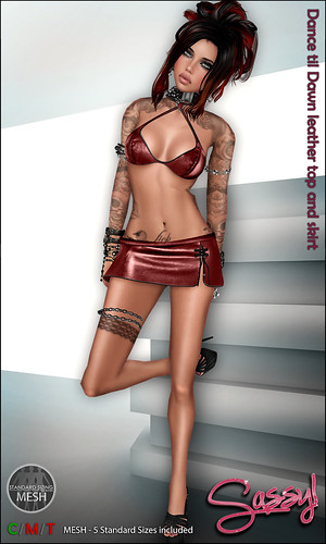 Dance Til Dawn leather set
