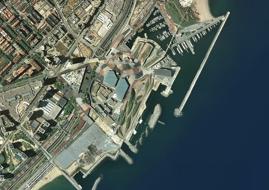 fórum, barcelona, BCN, qué es un fórum, después, urbanismo, planeamiento, urbano, desastre, urbanístico, construcción, rotondas, carretera