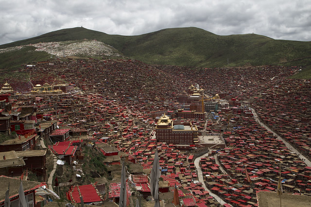 Larung Gar Five Sciences Buddhist Academy 2014