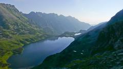 Dolina 5 Stawów z podejścia na Szpiglasowa Przełęcz