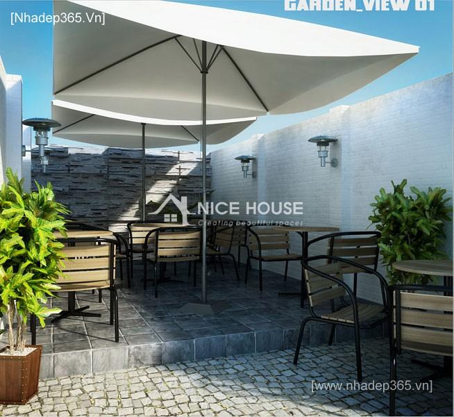 Nội thất quán cafe Cu Ba - HN_5