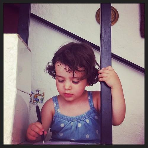 Helena Paints! #fiestasdemestanza #mestanza14
