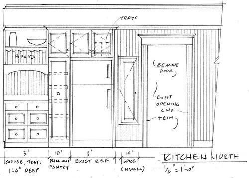 Elevation - Kitchen North