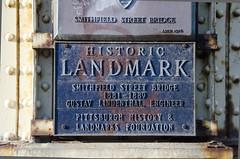 Smithfield Street Bridge Plaque