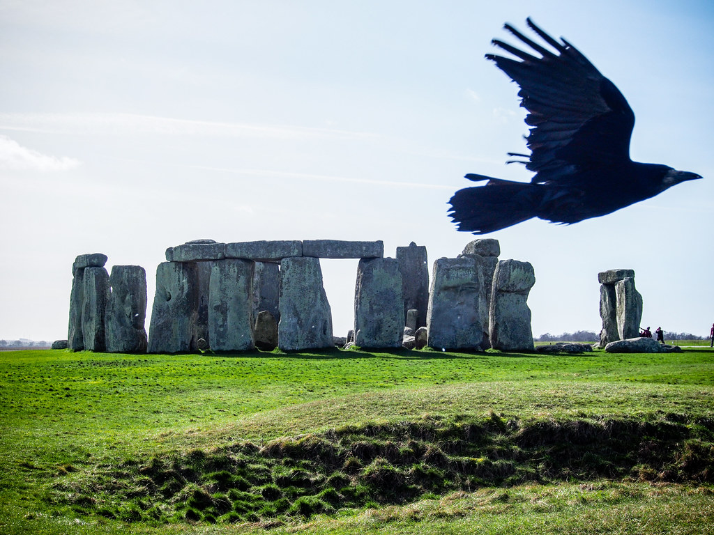An overview of the stonehenge in england