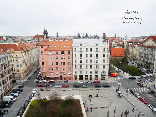 布拉格夜景景觀餐廳推薦洲際酒店晚餐 (11)
