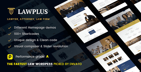 Law Plus WordPress Theme free download