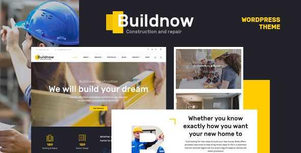 Buildnow WordPress Theme free download