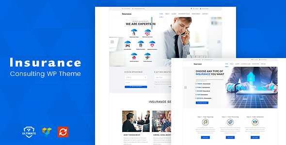 Insurance WordPress Theme free download
