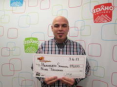 Heriberto Sandoval - $9,000 - Hot Lotto Sizzler - Nampa - Stinkers Stores