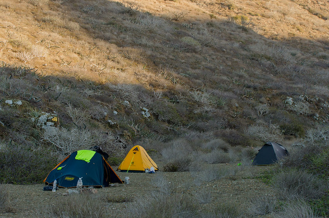 Campamento n6, primer contacto con Isla Margarita